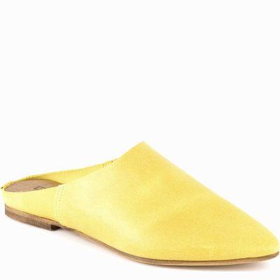 כפכף נוחות קומפורט גויה מרוקאי חרדל צהוב