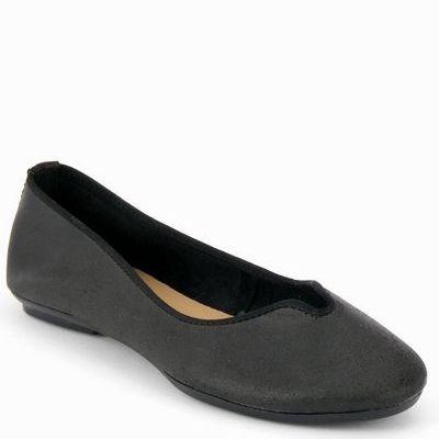 נעלי בובה גויה נטורל שחור