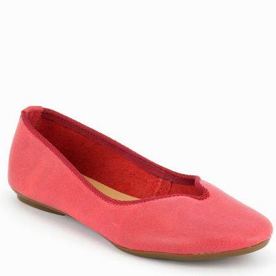 נעלי בובה גויה נטורל אדום