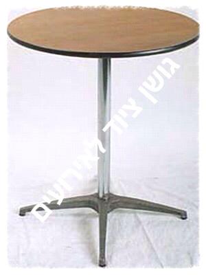 """שולחן בית קפה גובה 76 ס""""מ, קוטר פלטה עליונה 76 ס""""מ"""