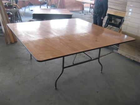 """שולחן מרובע 160/160 ס""""מ - Squar Table 160/160 cm"""