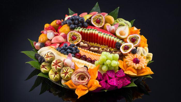 מגש פירות -   קסם הצבעים XL