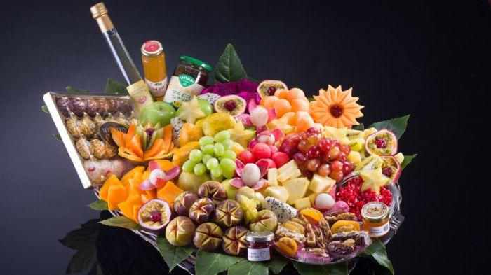 סלסלת פירות מיוחדת לחגים