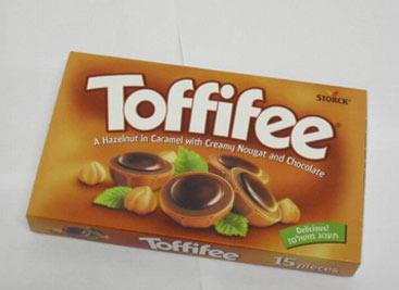 Tofifee chcolates