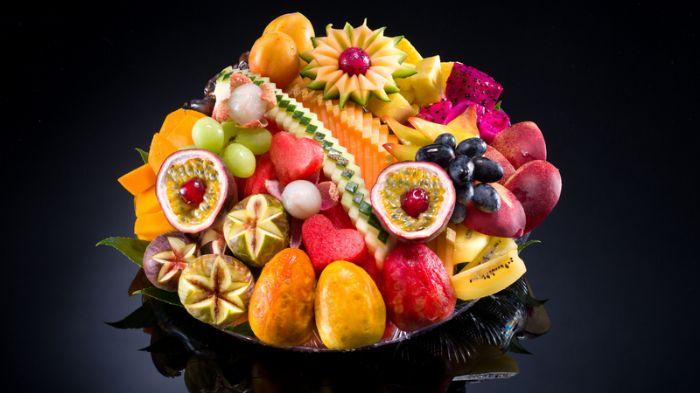 מגש פירות-קסם הצבעים S