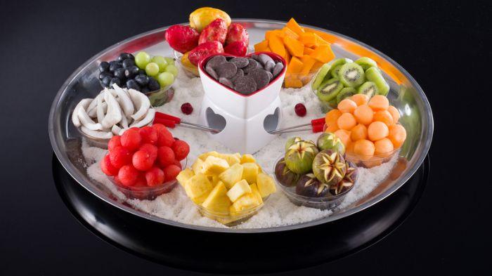 מגש פירות -   קסם הפונדו