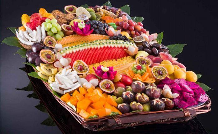 סלסלת פירות - קסם מכל הלב