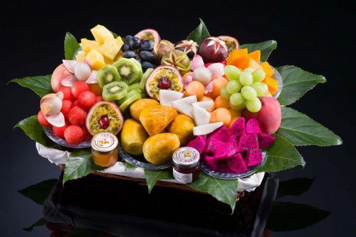 סלסלת פירות - קסם אקזוטי XL