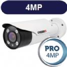 """מצלמת צינור אינפרה 4MP סדרה Pro עדשה משתנה 2.8-12 מ""""מ תוצרת Provision"""
