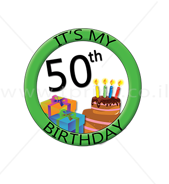 זה היום הולדת שלי