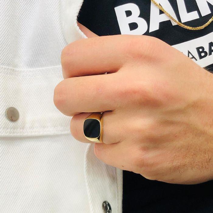 טבעת זהב 14Kלגבר