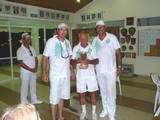 מיכה פרקש לורנס מנדלסון וסלוין הר אלופי הליגה הארצית 2010  Micha Farkash Lawrence Mendelsohn and Selwyn Hare, pennant league champions 2010