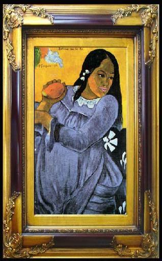 האישה עם המנגו