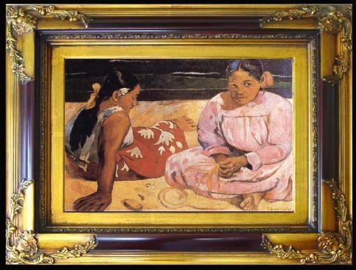 אישה טהיטי