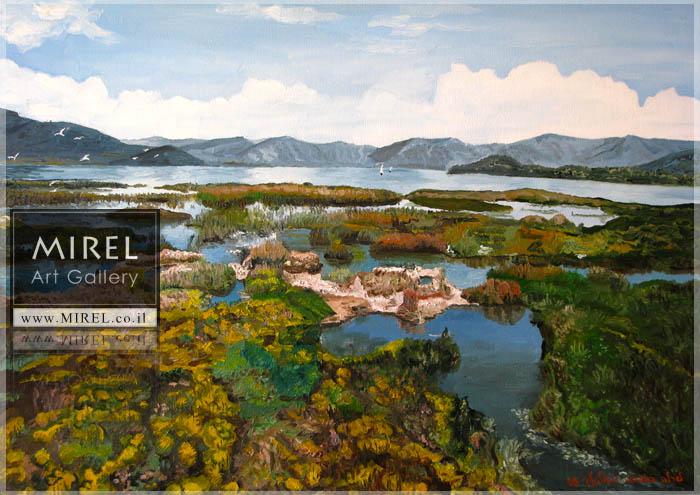 מקדונייה ציור נוף