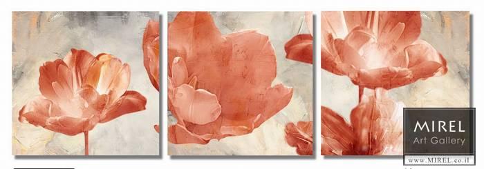פרחים ציור אווירה