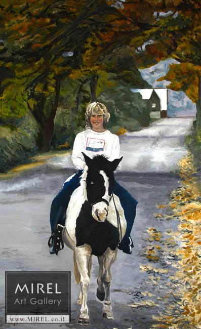 פרש עם סוס, קנדה