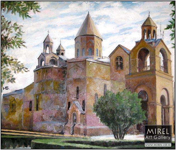 קתדרלת אצ'מיאדזין ,ארמניה  Echmiadzin, Yerevan