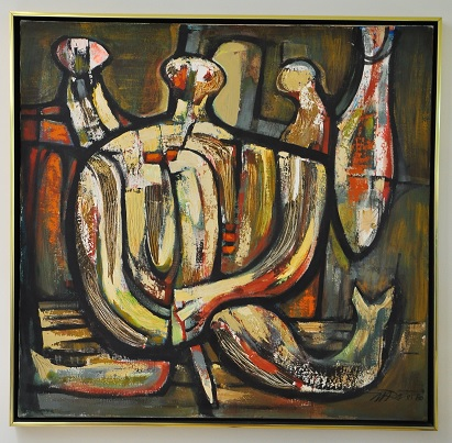 האישה עם הדג The Fisherwoman with a Fish 1980