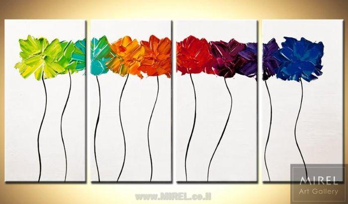 פרחים לעיצוב מודרני