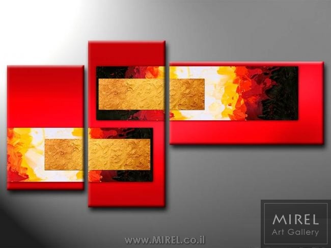 אדום מודרני בחלקים