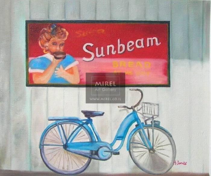 ציור אופניים