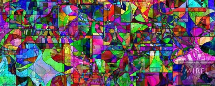 פאזל צבעוני הדפסה