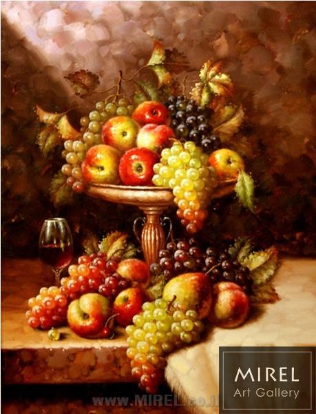 פירות ציור שמן