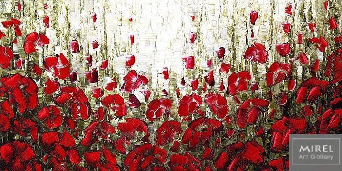 שדה פרגים אדומים