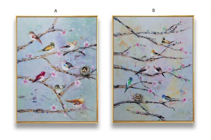 ציפורים על טורקיז