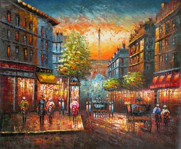 ציור פריז