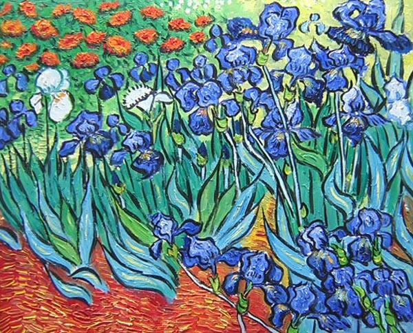 Irises, Saint-Remy