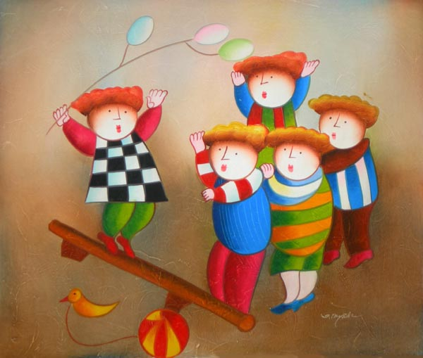 ילדות שמחה