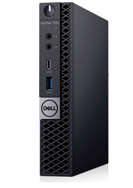 Dell OptiPlex 7060 MFF - i7-8700T - 256GB SSD - 8GB - 3Y - WIN10Pro