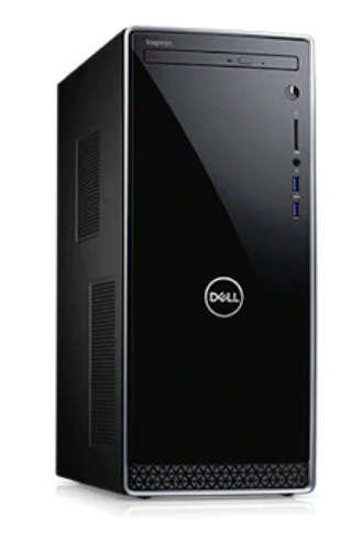 Dell inspiron 3670 - i7-8700 - 128GB SSD + 1TB HDD - 8GB - NVidia GF GTX 1050Ti - 3Y-WIN10