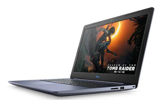 """Dell G3 3579 15.6"""" - i7-8750H - 256GB SSD - 8GB - Nvidia GF 1050 Ti - 3Y-WIN10"""