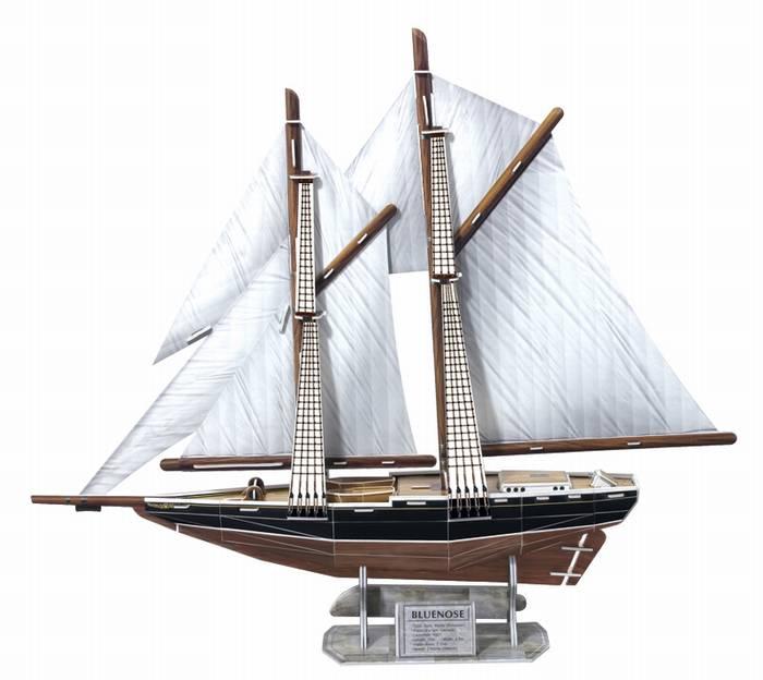 פאזל תלת מימד -בלונוז - אוניית דייג קנדית