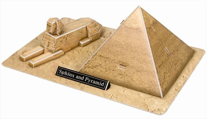פאזל תלת מימד -פירמידות - מצרים