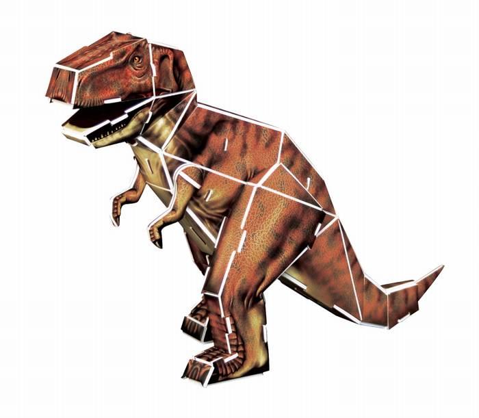 פאזל תלת מימד -דינוזאור - טיראנוזאורוס
