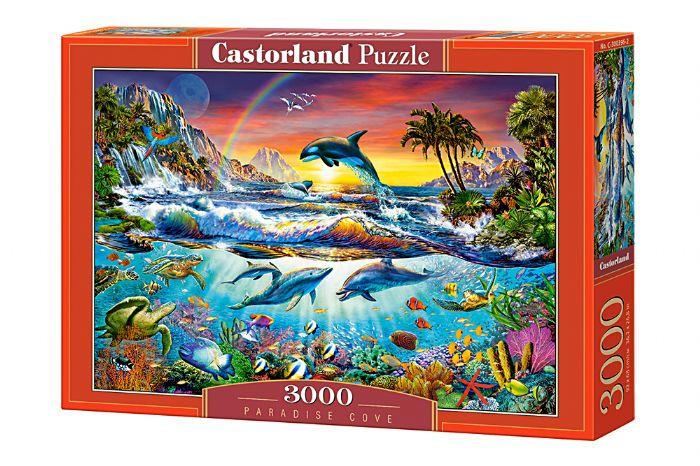 פאזל 3000 חלקים  - גן עדן תת ימי