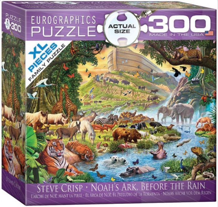 פאזל 300 חלקים - תיבת נוח לפני המבול