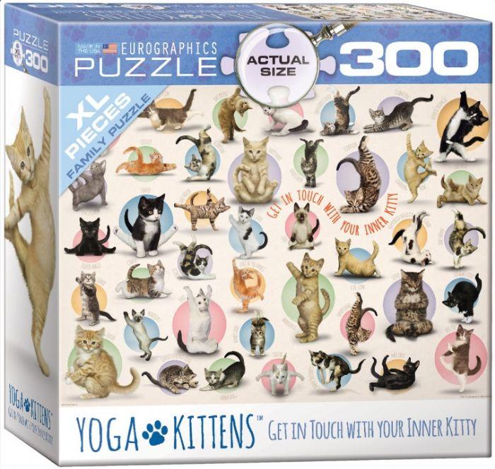 פאזל 300 חלקים - חתולים שעושים יוגה