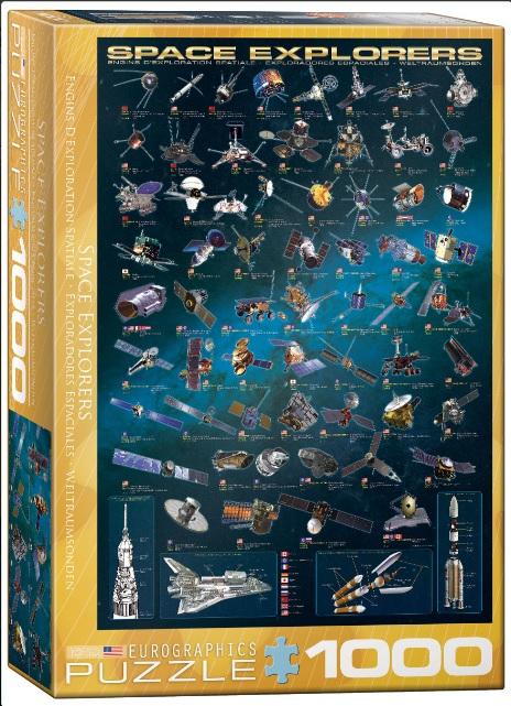 פאזל 1000 חלקים - Space Explorers