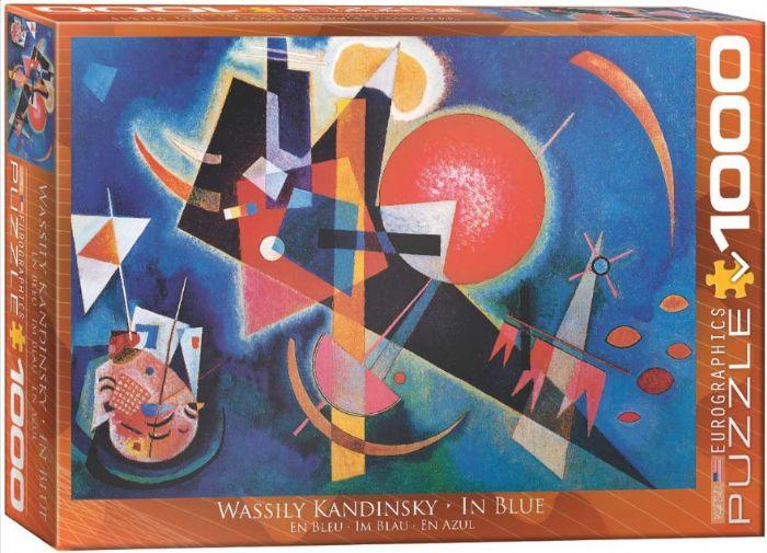 פאזל 1000 חלקים - קנדינסקי - IN BLUE
