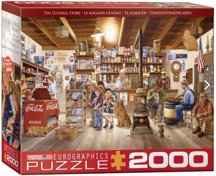 פאזל 2000 חלקים - חנות כלבו