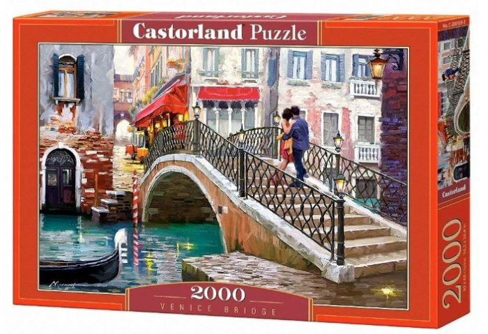 פאזל 2000 חלקים -על הגשר בונציה