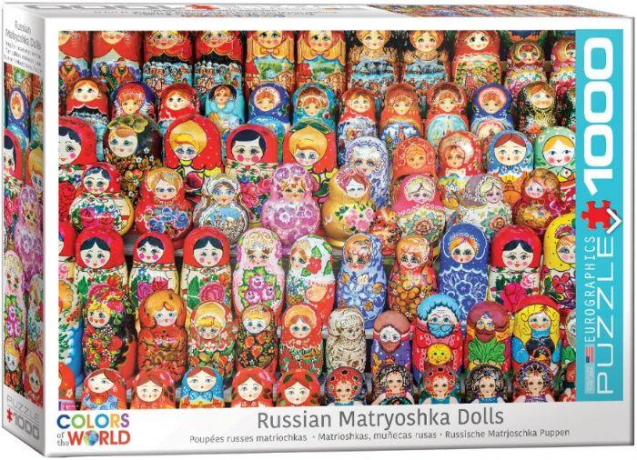 פאזל 1000 חלקים - אוסף בובות מטריושקה