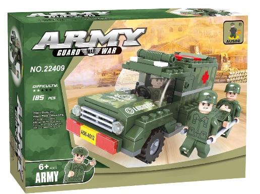 משחק הרכבה  - רכב הצלה של חיילים