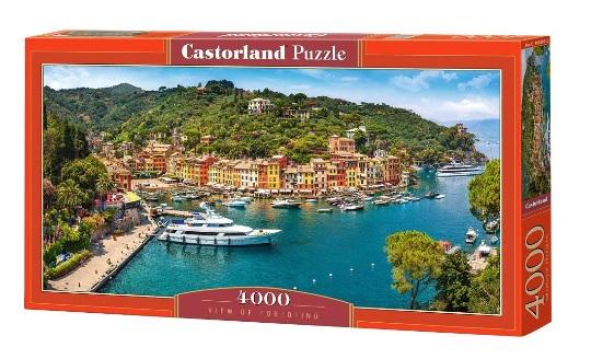 פאזל 4000 חלקים - מבט על פורטופינו - איטליה