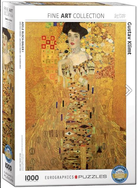 פאזל 1000 חלקים -קלימנט-Adele Bloch-Bauer I